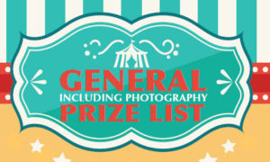 General Prize List Including Photography