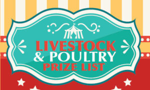 Livestock and Poultry Prize List