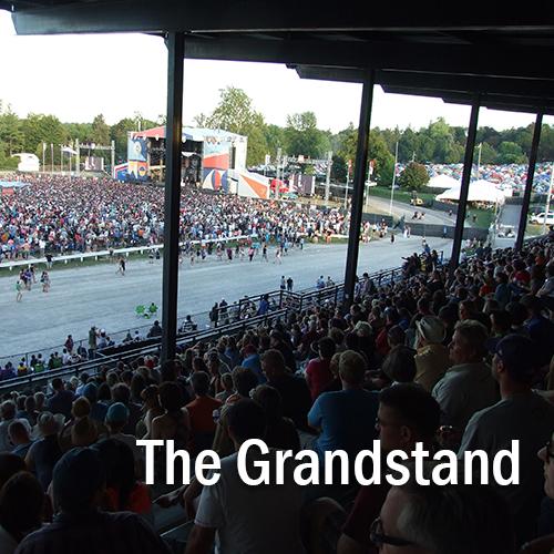 Grandstand Building
