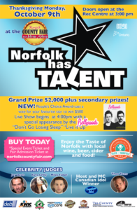 Norfolk Has Talent Poster