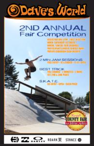 Skate Comp Poster