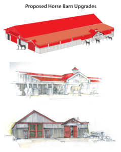Proposed Horse Barn Upgrades
